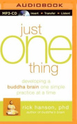 Just One Thing [Audio]