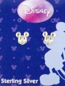 Disney Mickey Mouse Sterling Silver Stud Earrings Jewellery