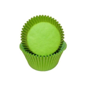 Lime Green Cupcake Baking Cup Liners, 50 Count, by GSA
