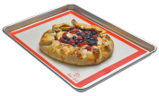 . Baker's Goods Professional Non-stick Silicone Baking Mat, Ideal for Half-size Baking Pans, 30cm x 40cm