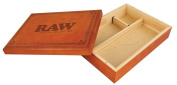 Raw ® Special Wood Rolling Box - 16cm x 22cm Inches
