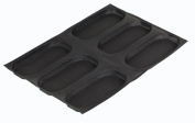 Demarle SF 01161 Silform Non-Stick Bread Mat with 6 Moulds