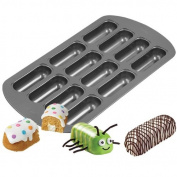 Novelty Cake Pan-12 Cavity Delectovals 44cm x 23cm X1.7.6cm