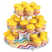 Bakery Crafts Reversible Cupcake Stand - 3 Tier