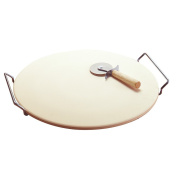 Good Cook 4301 37cm Pizza Stone with Rack