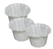 Optional Coffee Paper filter for Ekobrew Single Serve filter , 100 Count