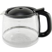 KRUPS XS1500 10-Cup Glass Carafe for KRUPS Combi Machines, Black