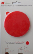 """""""The Red Travel Cap"""" for AeroPress® Coffee Maker by The Handy House"""