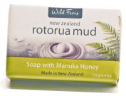Wild Ferns Rotorua Mud and Manuka Honey Soap 125gr130ml