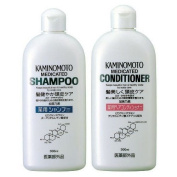 Kaminomoto Japan Medicated Scalp Hair Growth B & p Shampoo & Conditioner 300ml