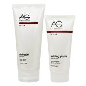 """AG Hair Styling Gel Firm Hold 180ml & Welding Paste 90ml """"Set"""""""