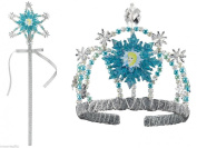 Frozen Elsa Wand & Tiara Child Costume Accessories Licenced 79356/79357 New