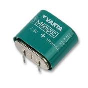 NiMH PCB Mount Memory Protection Battery 4.8V 150mAh