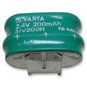 NiMH PCB Mount Memory Protection Battery 2.4V 200mAh