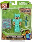 Minecraft Diamond Steve Action Figure