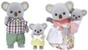 """Epoch Sylvanian Families Sylvanian Family Doll """"Fs-15 Family of Koala"""""""