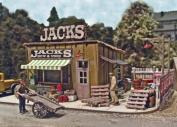 HO KIT Laser-Cut Jack's Backyard