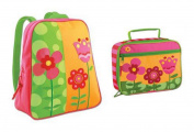 Stephen Joseph Go Go Backpack and Classic Lunchbox Set