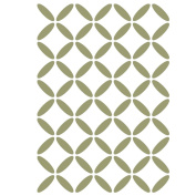 J BOUTIQUE STENCILS Geometric Lattice Stencil For Crafting Canvas DIY decor Wall art furniture