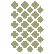 J BOUTIQUE STENCILS Moroccan Trellis Tile Stencils Template for Crafting Canvas DIY decor furniture