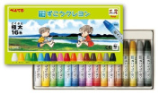 Pentel arts and crafts arts and crafts crayons (16 colours) PTCG1-16 [3 sets]