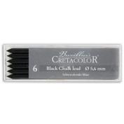 Cretacolor Artist Lead Black Chalk 6/Pack