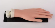 Pro Practise Mannequin Hand with Stand and Stay Adjustable Fingers