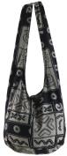 Retro Hippie Hobo Boho Cotton Sling Crossbody Shoulder Messenger Bag Purse PB70