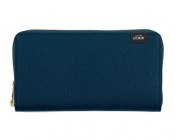 Kate Spade Saturday Zip Around Leather Continental Wallet, Navy