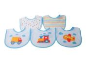 Kangaroo Newborn Bib Set, Vehicles