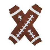 Ayygift Funny Rugby Ball Leg Warmers for My Infant Baby Toddler Girl or Boy Kids