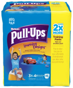 Huggies Pull-Ups Training Pants - Learning Designs - Boys - Big Pack - 3T-4T - 46 ct