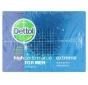 Dettol High Perforrmance for Men Extreme Soap 70g X 3 Pcs