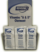 Rensow Super Vitamins A & D Ointment - 144 Foil Packets - 5 Grammes/ea.