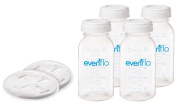 Evenflo Advanced Disposable Nursing Pads & Milk Storage Bottles