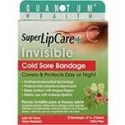Quantum Oral Care Super Lip Care + Invisible Cold Sore Bandage 12 count