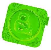 Siliconezone Silicone Panda Cake Mould, Mini, Green