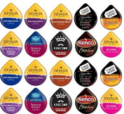 20 Tassimo® BOLD & Extra Bold Coffee T-Disc Sampler! 10 unique Coffee varieties! For those who love Strong Coffee!