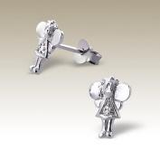 Angel Earrings, Stering Silver 925