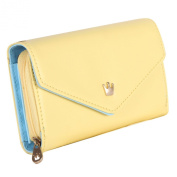Your Gallery Functional Women Ladies Card Crown Holder Wallet Leather Clutch Purse Bag