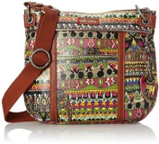 Sakroots Artist Circle Mini Fold Over Crossbody Bag