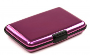 NEW Aluminium Credit Card Wallet - RFID Blocking Case - Pink