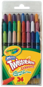 . Mini Twistable Crayons 24 in a Box (Pack of 4) 96 Crayons in Total