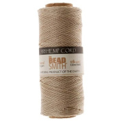 Hemp Twine Bead Cord .5mm 120m NATURAL 42655