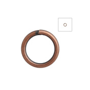 About 750pcs Zacoo Open Jump Rings Shape Round Colour Antique Copper 5x5x0.7 Outside Diameter 5mm