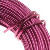 Aluminium Craft Wire 12 Gauge 12m FUCHSIA 42614