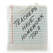 Enesco Our Name is Mud by Lorrie Veasey Teachers Have Homework Tote