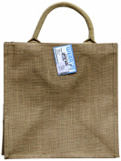Mark Richards Wear'm Style No.149 100-Percent Jute Tote, Large