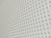 1500pcs X 3mm Single Self Adhesive Ivory Pearls Stick on Gems Wedding Craft