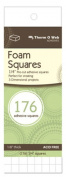 3D Foam Squares-White .60cm 176/Pkg